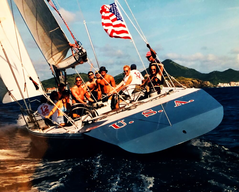 Americas Cup Sailing Experience cruise excursion st maarten