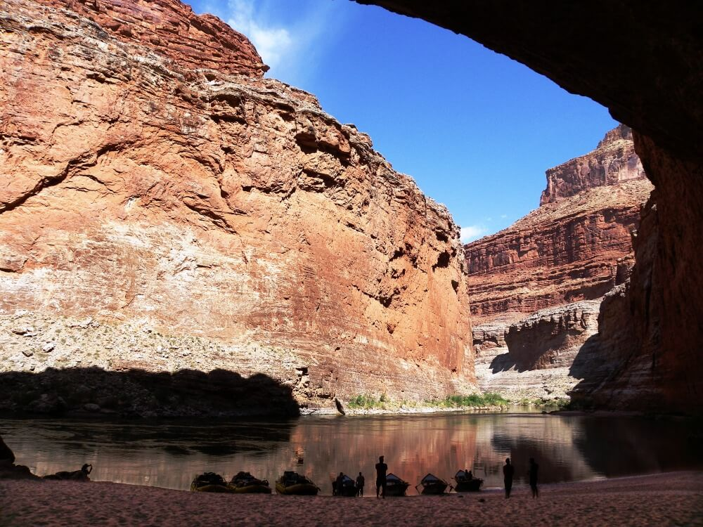 Grand Canyon red cave
