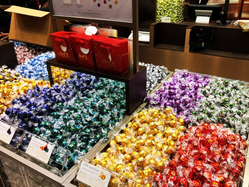 things to do in nyc during the holidays lindt chocolates