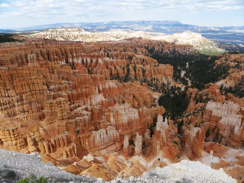 Bryce canyon Inspiration Point or sunrise point