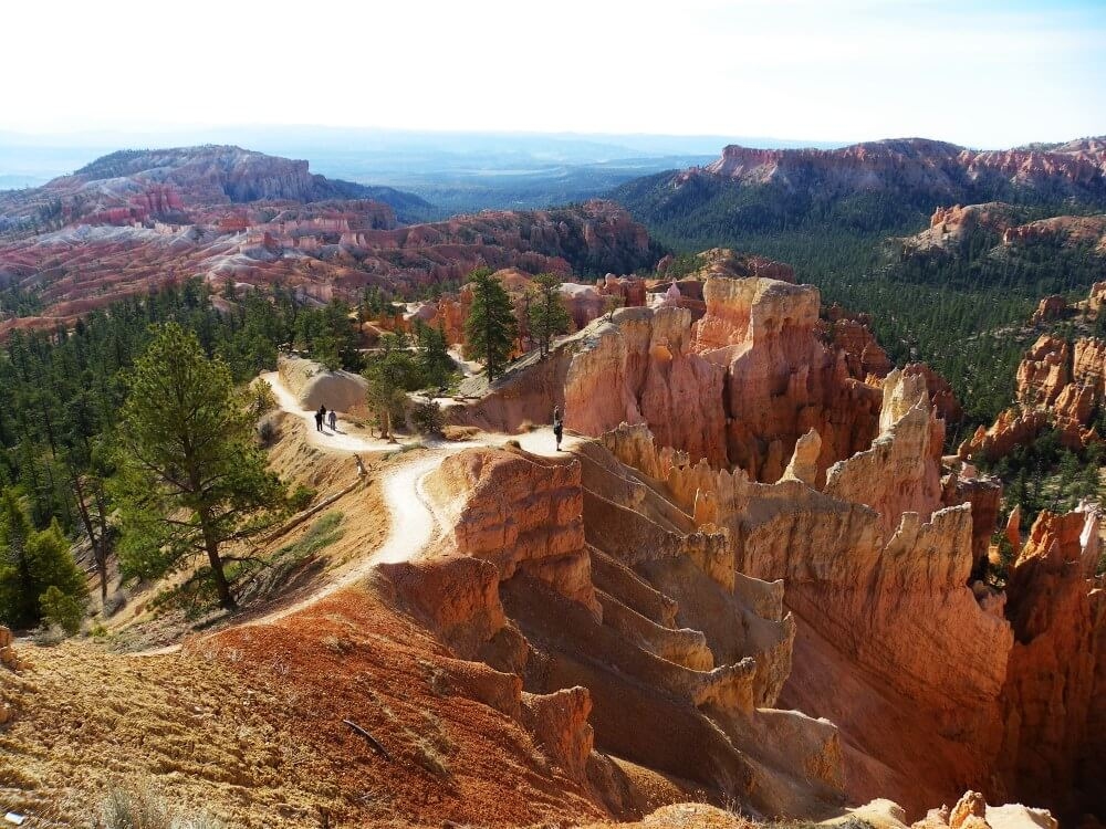 bryce canyon queens garden trail early