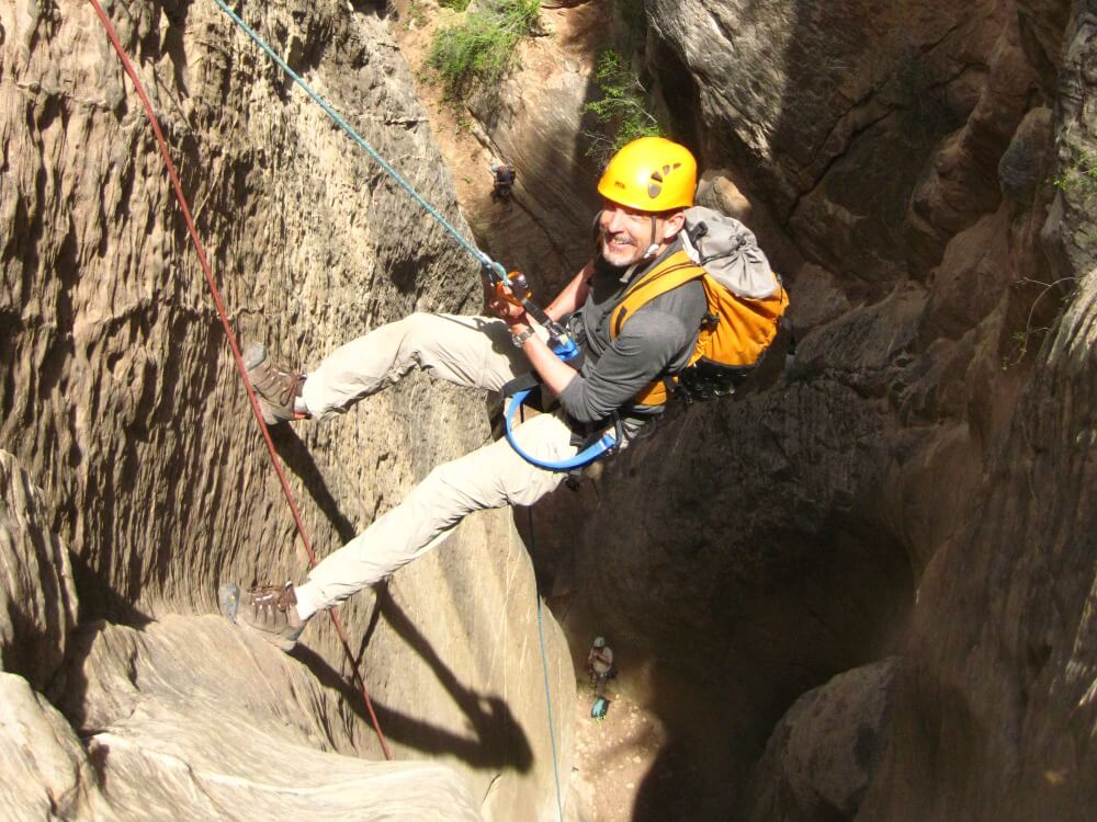 Canyoneering in Zion NP