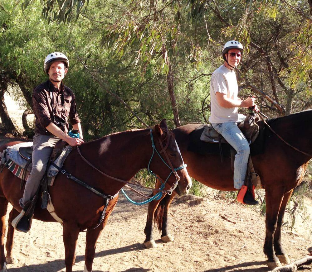 Horse riding in Los Angeles