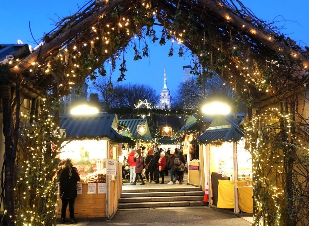 best things to do in nyc around christmas union square holiday markets