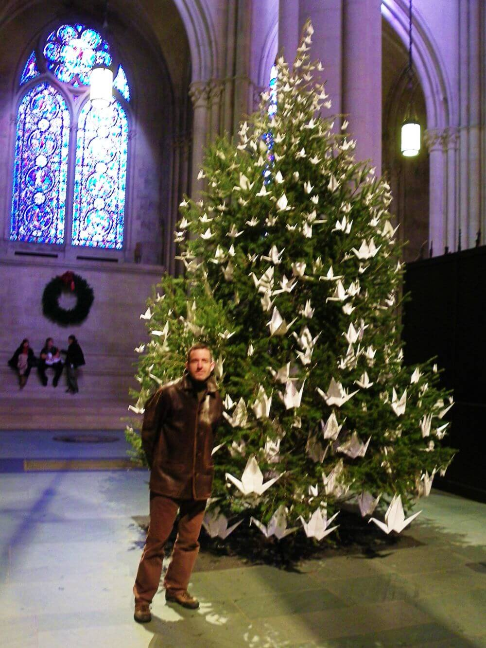 NYC Best Christmas Trees tour St JOhn the divine