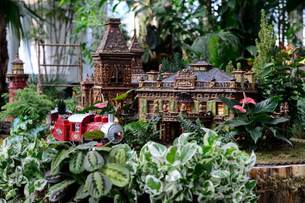 The Holiday Train Show at the New York Botanical Gardens