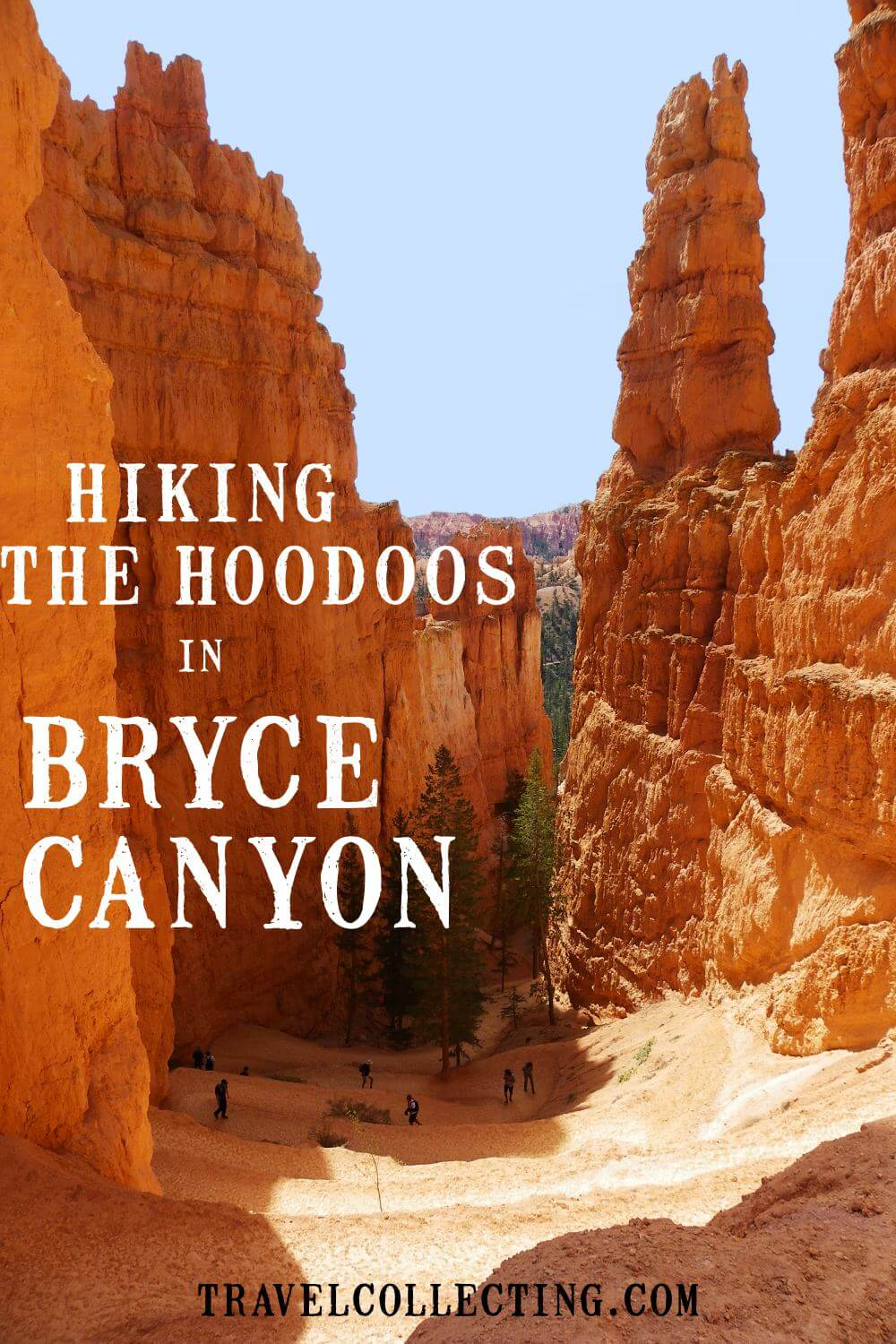 Hiking the Hoodoos in bryce canyon np