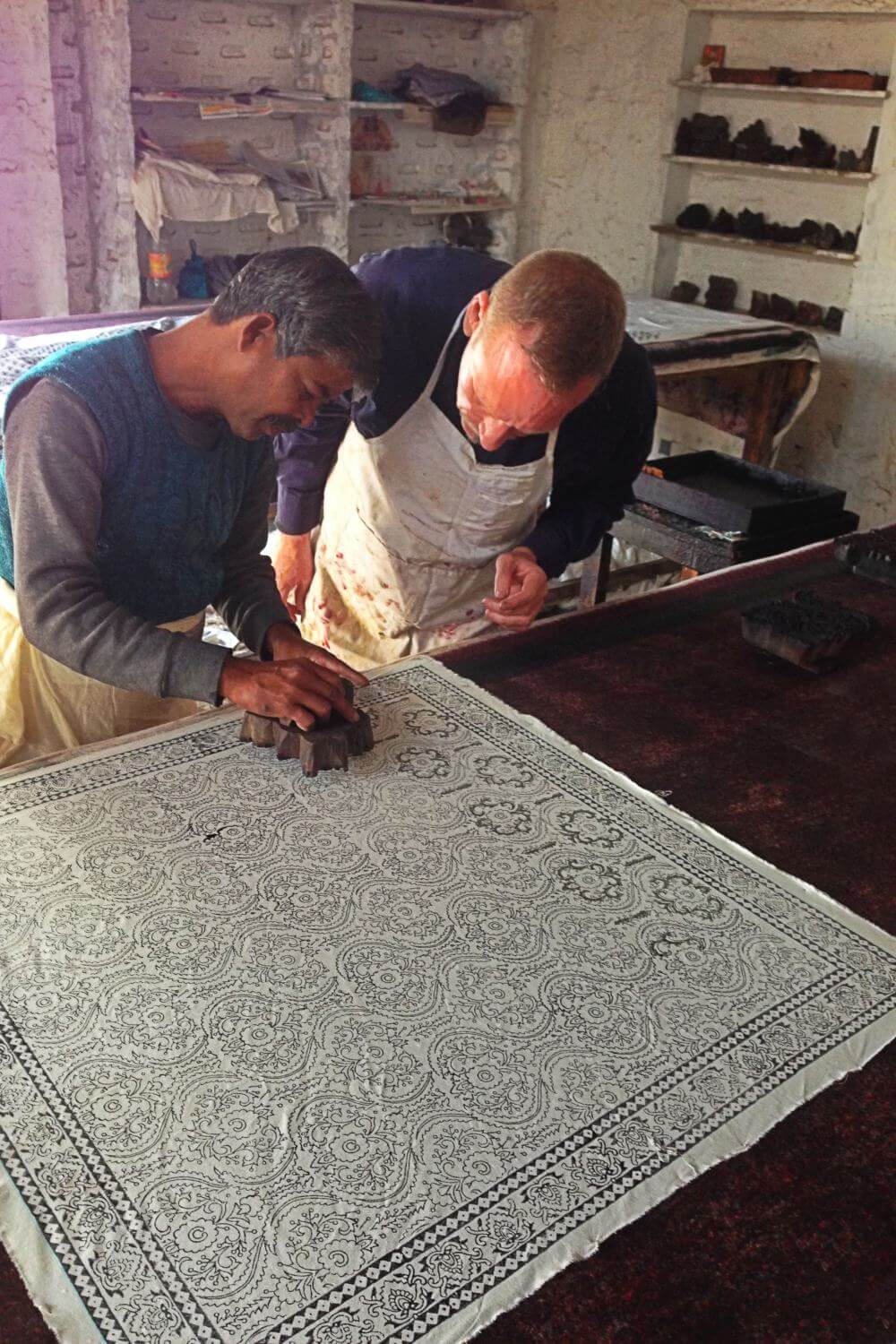 Hand Block Printing Workshop, Jaipur - or - MADE IN INDIA (BY ME)