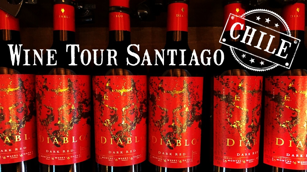 Wine Tour Concha Y Toro Santiago Chile Or BLOOD RED