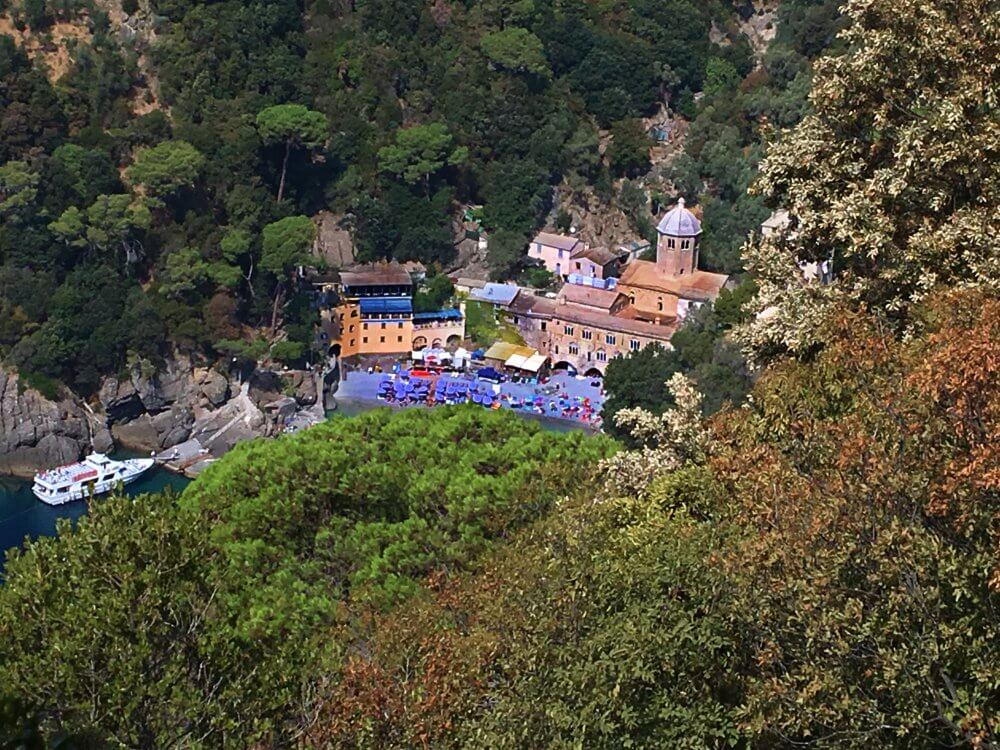 San fruttuoso from above