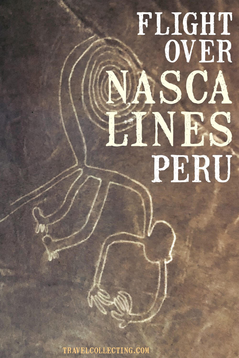 Flight over nasca lines. See mysterious desert symbols in Peru