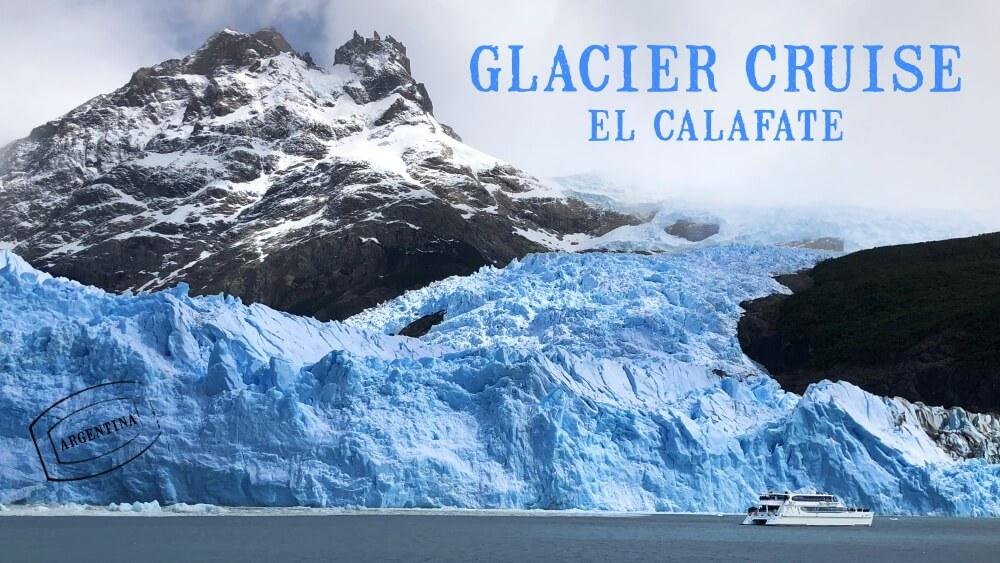 Glacier cruise el calafate