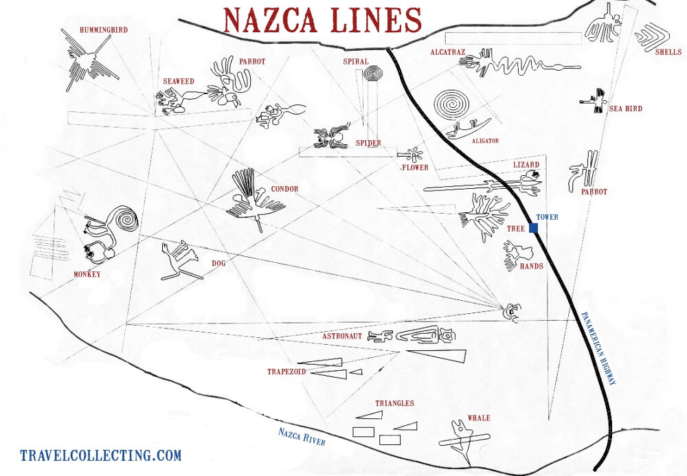 Nazca Lines Map