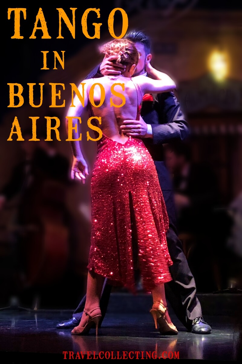 Argentina tango show in Buenos Aires