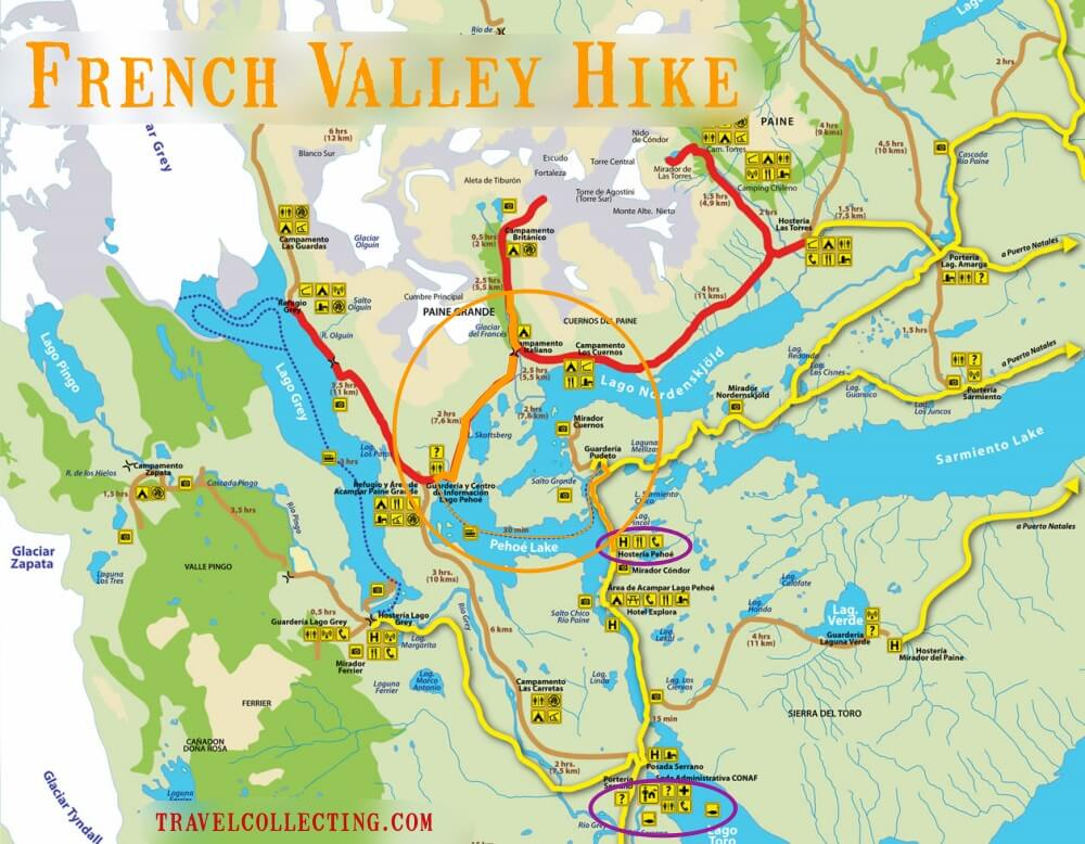 French Valley Hike Map
