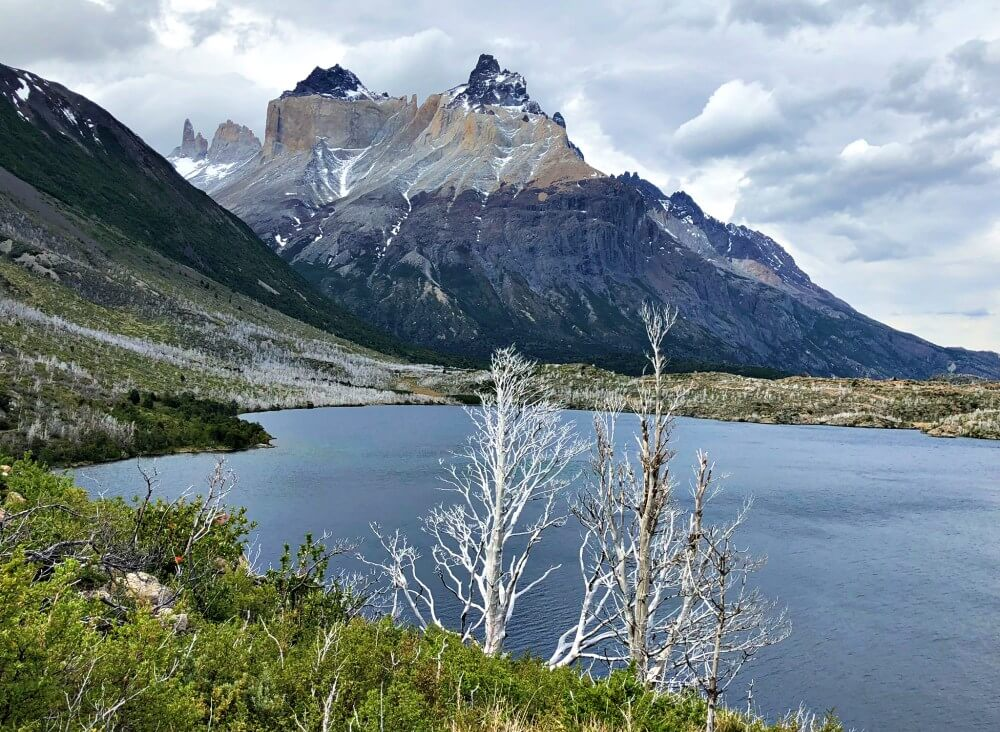 Lake Skottsberg and Cuernos del Paine on French Valley Hike