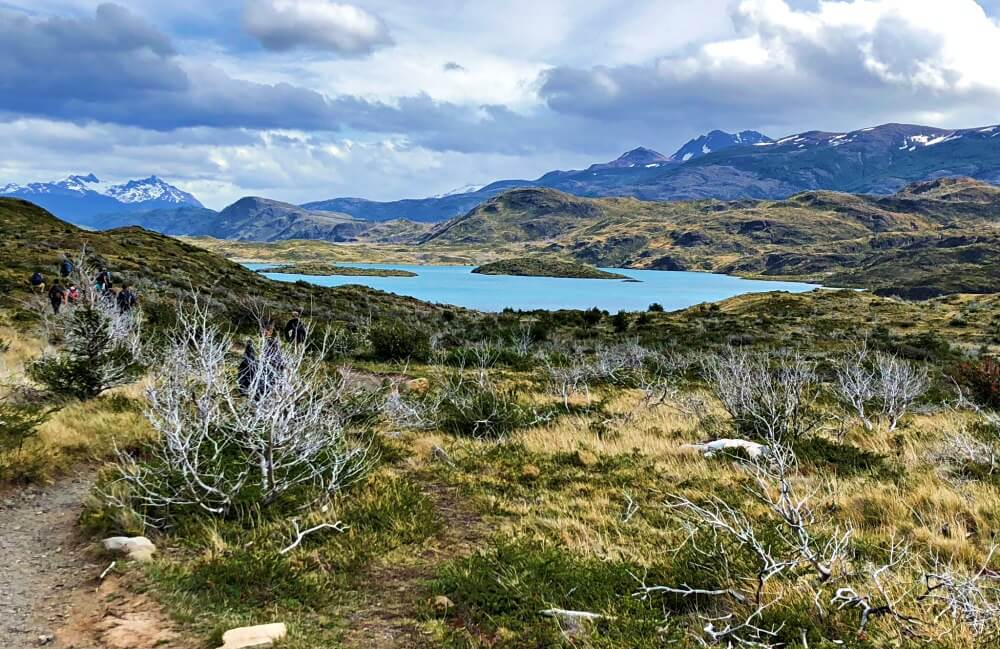View of lake on French Valley HIke