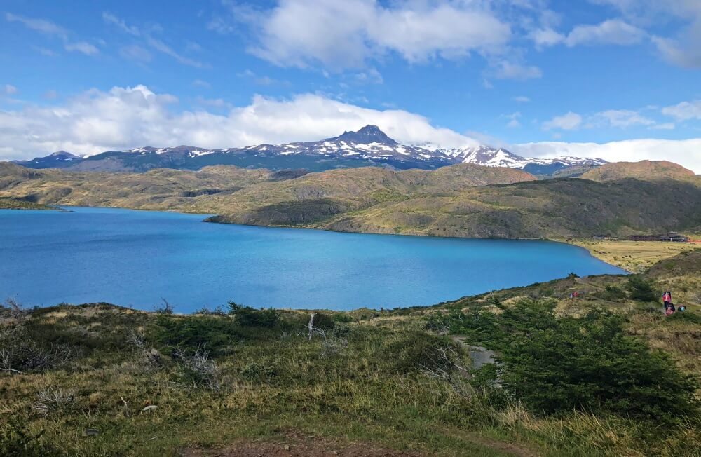 Start of French Valley HIke - view back to Refugio Paine Grande