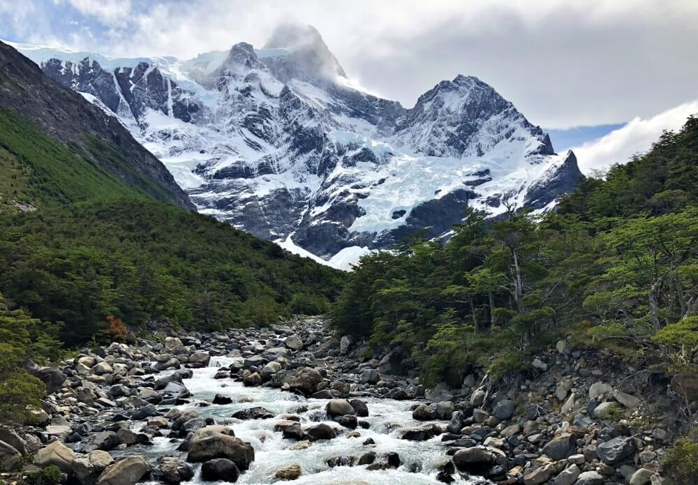River and French Glacier
