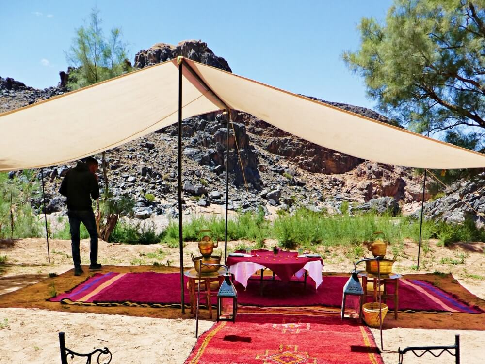 Morocco glamping