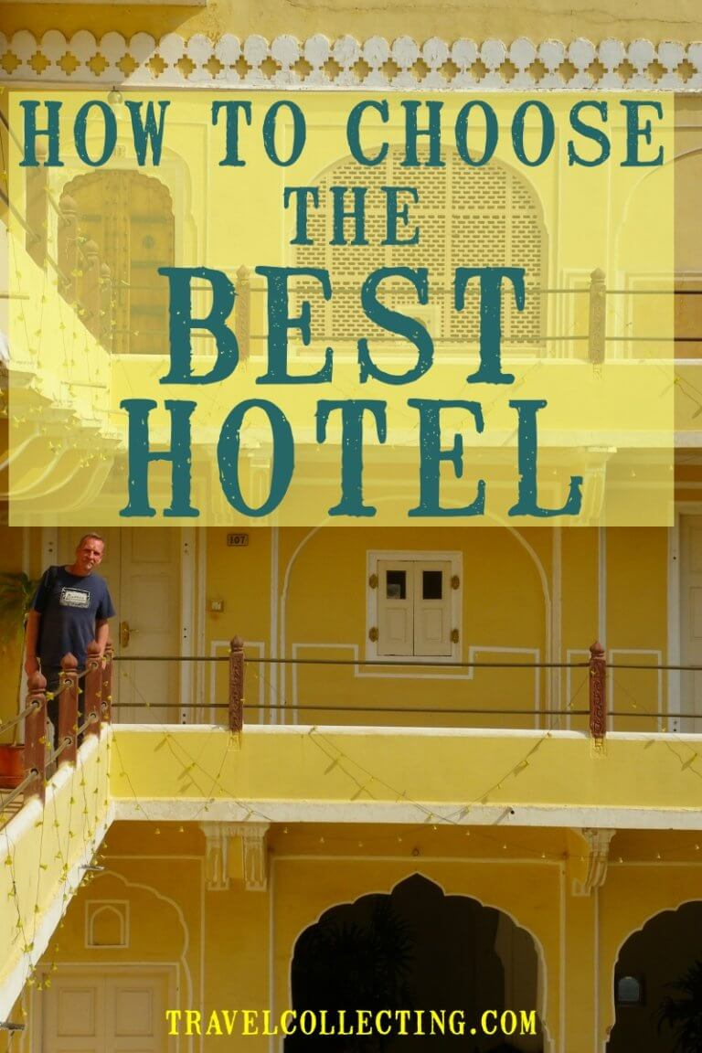 how to choose a hotel Pinterest