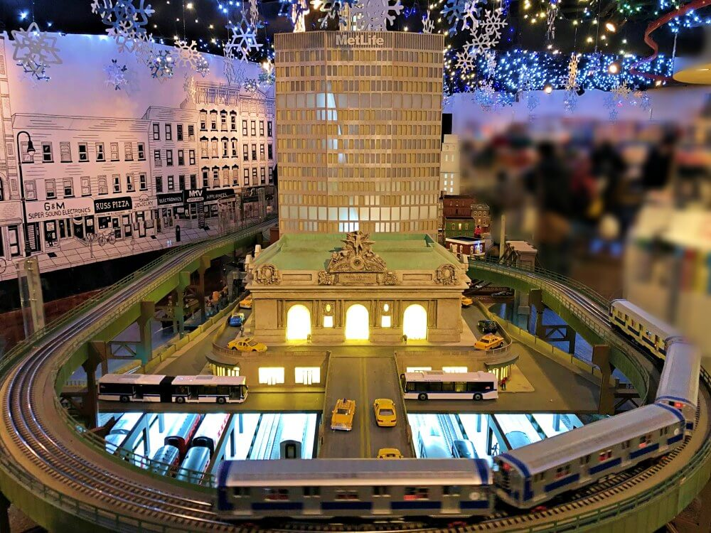 HOliday Train Show Grand central