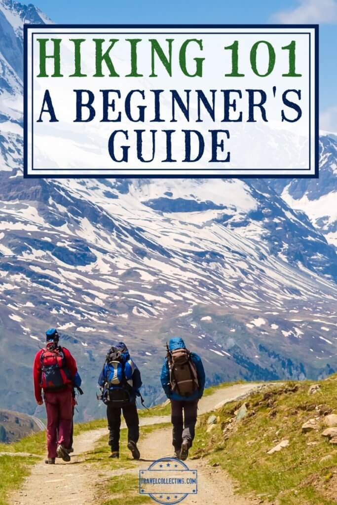 HIKING FOR BEGINNERS hikers on mountain trail