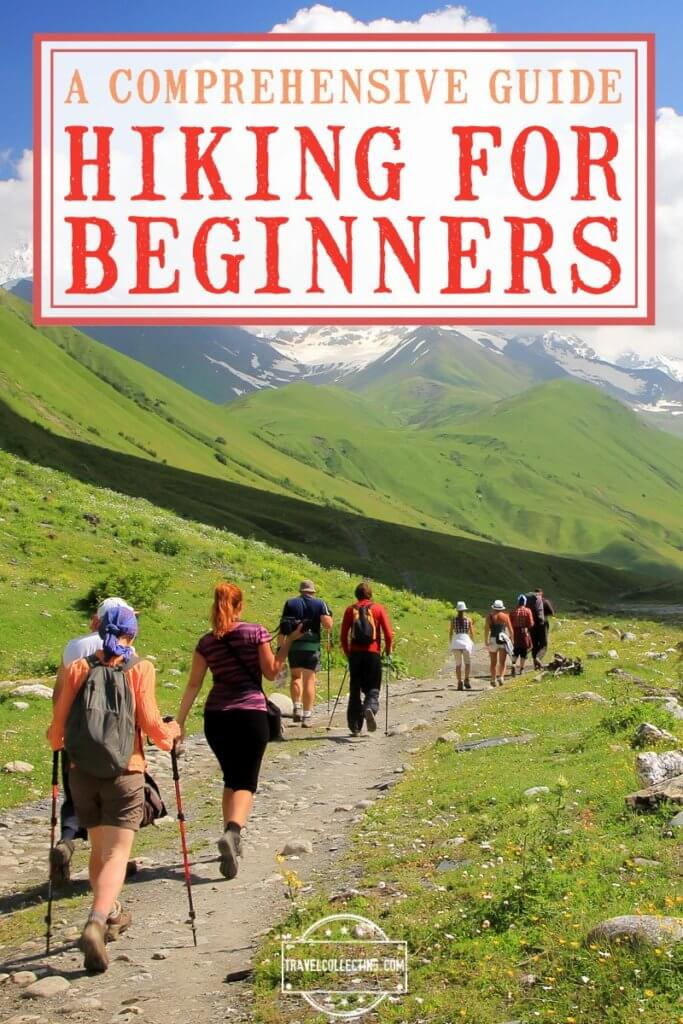 HIKING FOR BEGINNERS HIKERS IN MOUNTAINS