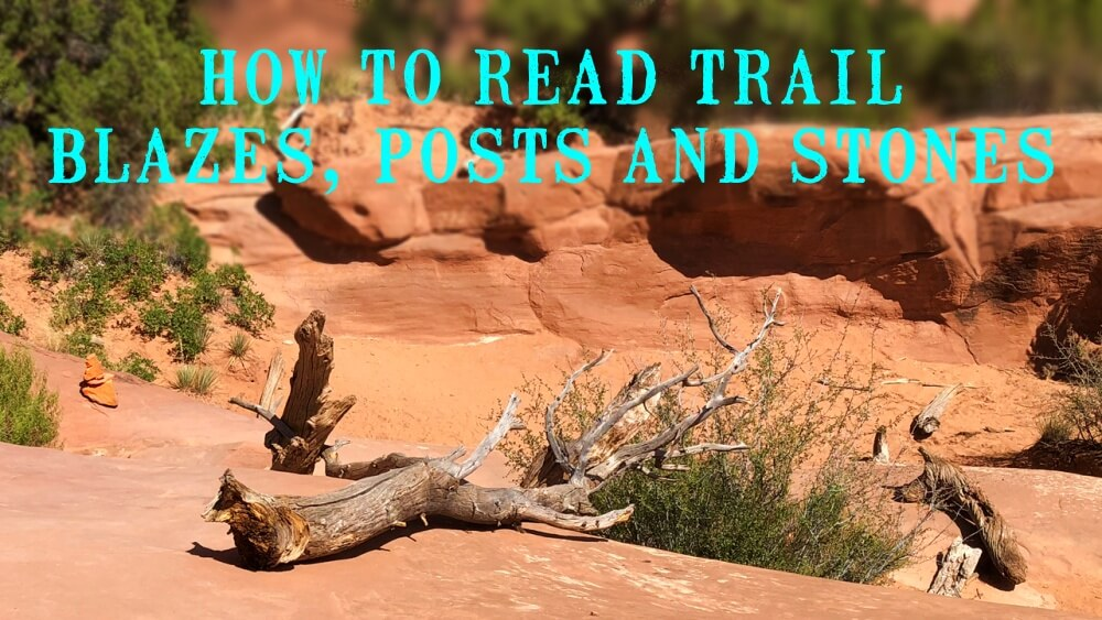 How to read trail markers