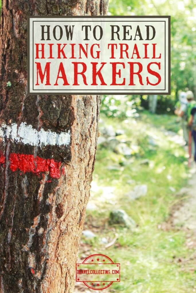 hOW TO READ HIKING TRAIL MARKERS