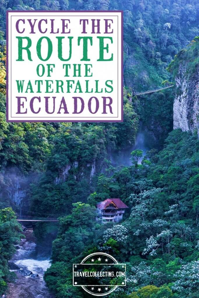 Cycle down the Andes along the Route of the Waterfalls in Ecuador
