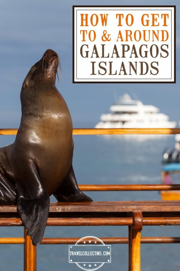 How to get to and around the Galapagos Islands