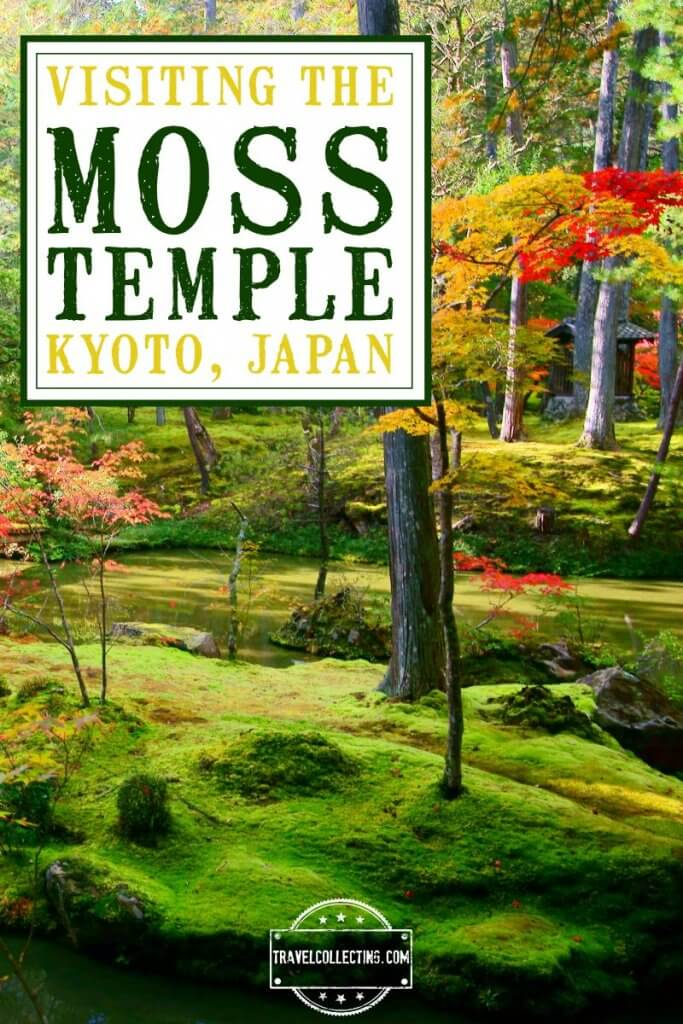 Visiting moss temple kyoto