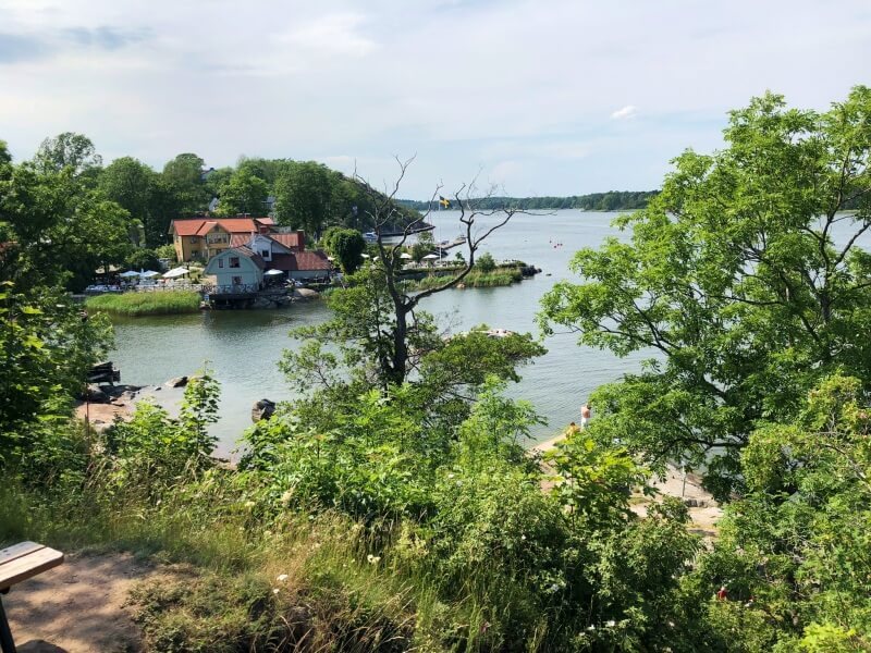 View from Battery Park Vaxholm Sweden