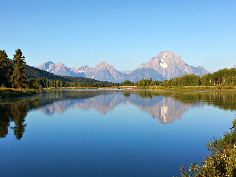Oxbow Bend one of the best stops on the Grand Teton National Park scenic loop drive