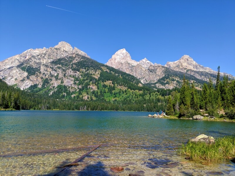 Taggart Lake one of the best hikes in Grand Teton National Park