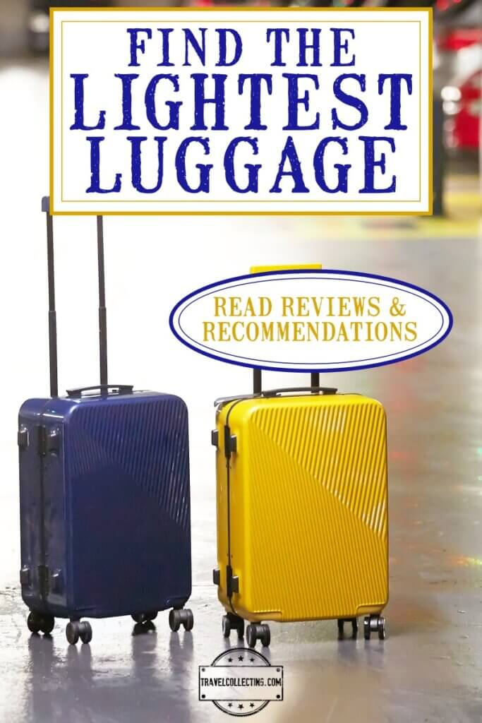 tHE LIGHTEST WEIGHT LUGGAGE