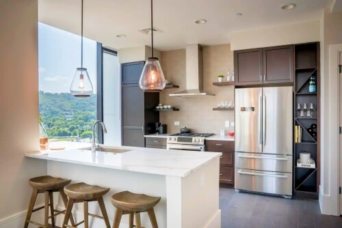 Luxury Apartment with Mountain Views airbnb downtown Asheville NC