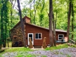 Secluded Riverfront Cabin near Asheville in the Blue Ridge Mountains